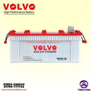 Volvo Solar-130, Volvo 130AH Battery in Bangladesh