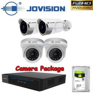 Jovision 04 CCTV Camera Package in Bangladesh