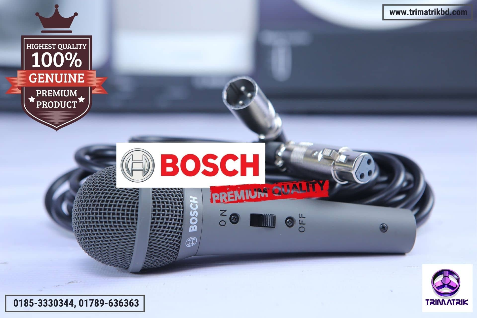 Bosch LBC 2900/20 Unidirectional Handheld Microphone Best Price in Bangladesh