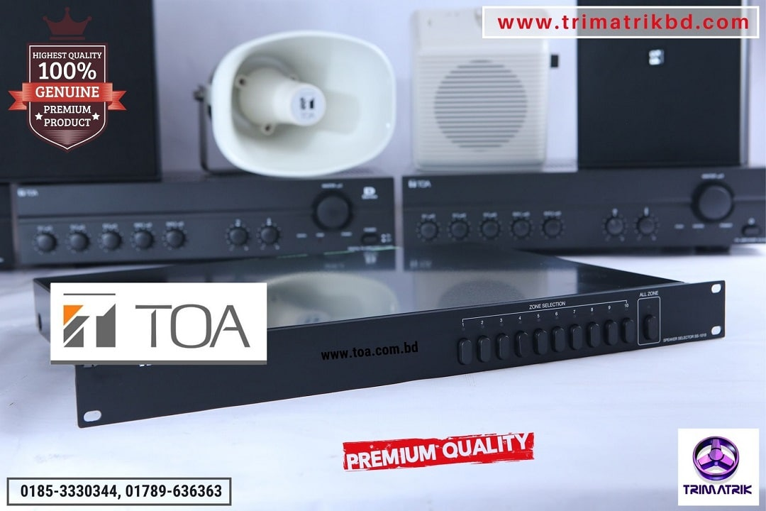 TOA SS-1010 Speaker Selectors
