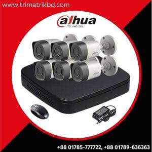 Dahua 6 Cctv camera package Price in Bangladesh, Dahua CC Camera in Bangladesh