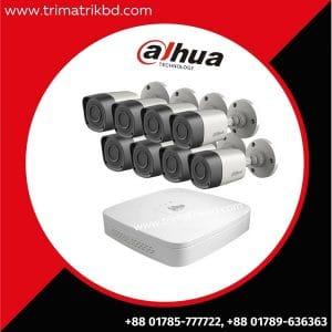 Dahua 8 CCTV Camera package Price in Bangladesh