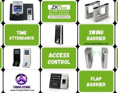 ZKTeco Time Attendance & Access Control Supplier in Bangladesh, TRIMATRIK