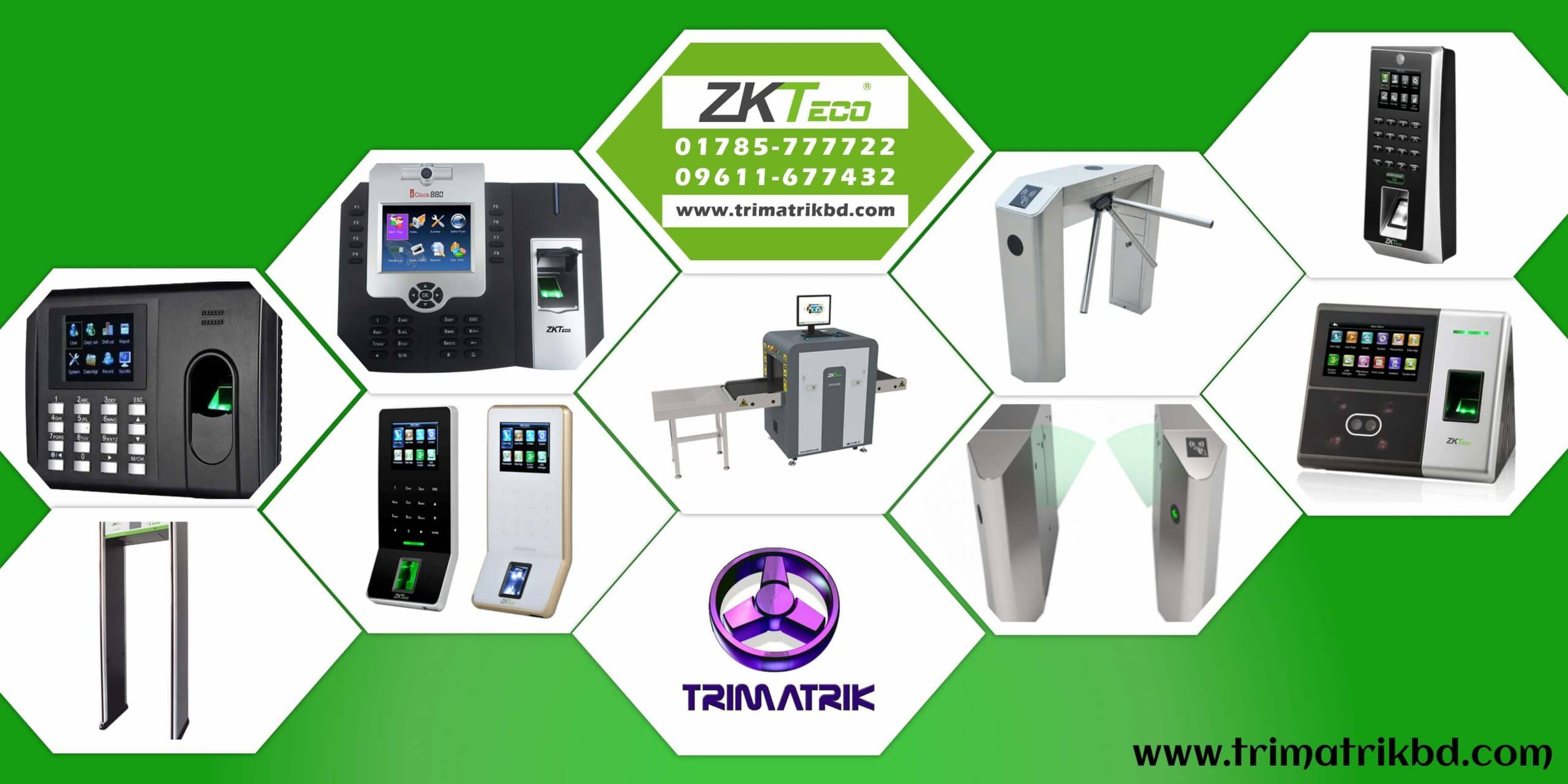 ZKTeco Time Attendance & Access Control in Bangladesh