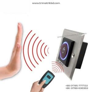 K2RR No Touch Exit Button & Remote Combo