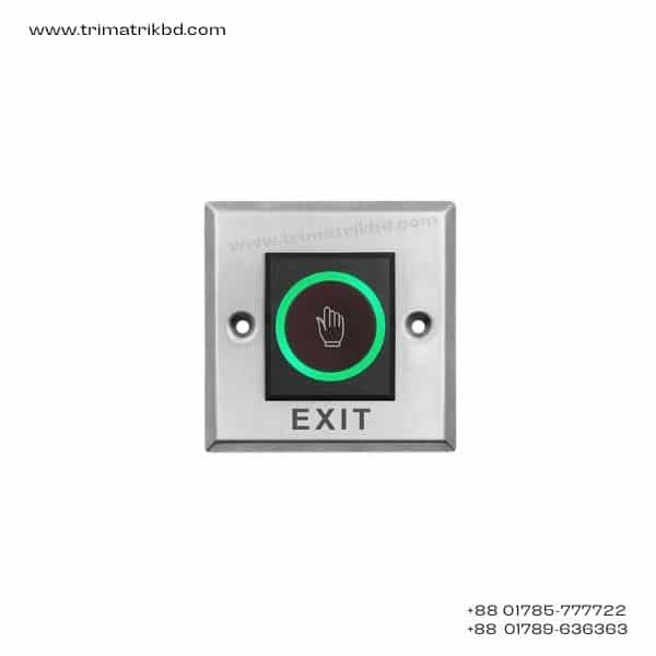 Touch Screen Door Exit Button Switch